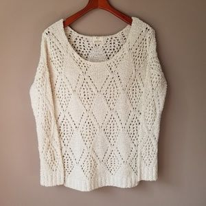 Pins & Needles | Urban Outfitter Open Knit Sweater